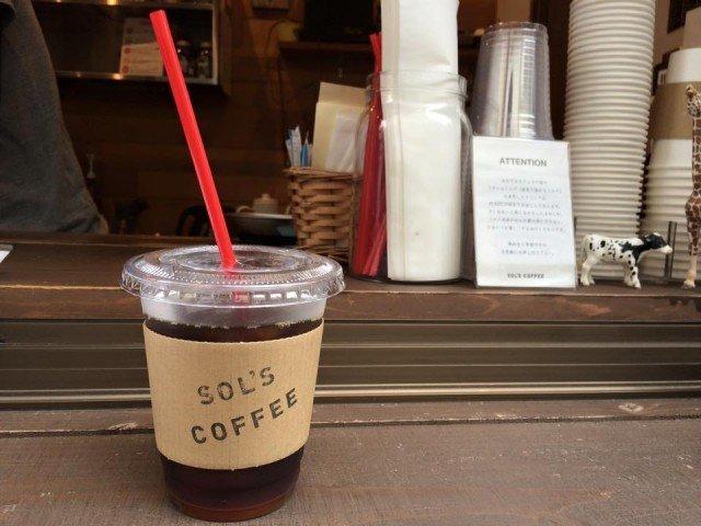 SOL'S COFFEE 蔵前