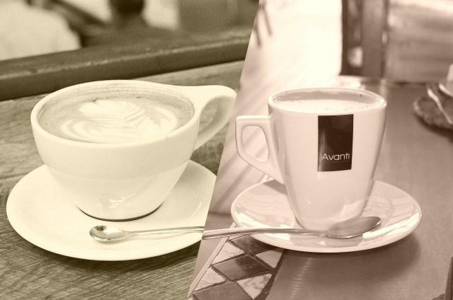 「カフェオレ」と「カフェラテ」の違い