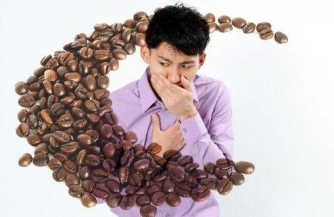 コーヒーと胸焼け