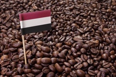 Flag of Yemen coffee