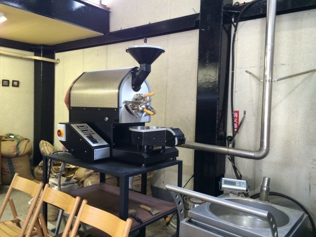 The Cream of the Crop Coffee_small roaster
