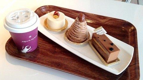 コンフィチュールアッシュ_コーヒーとケーキ