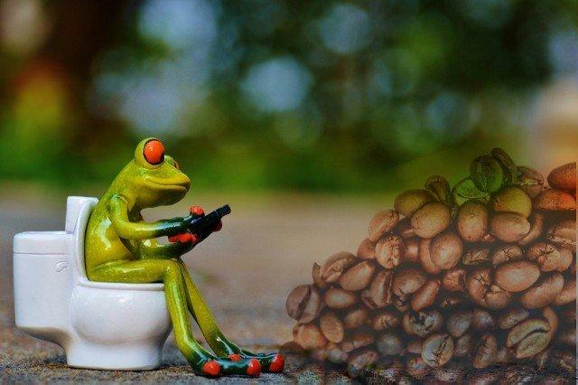 コーヒーと便秘の関係