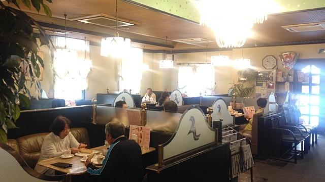 カフェテラスロダン青山店_店内