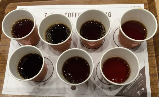 COFFEE COLLECTION around 神田錦町2015_tasting1