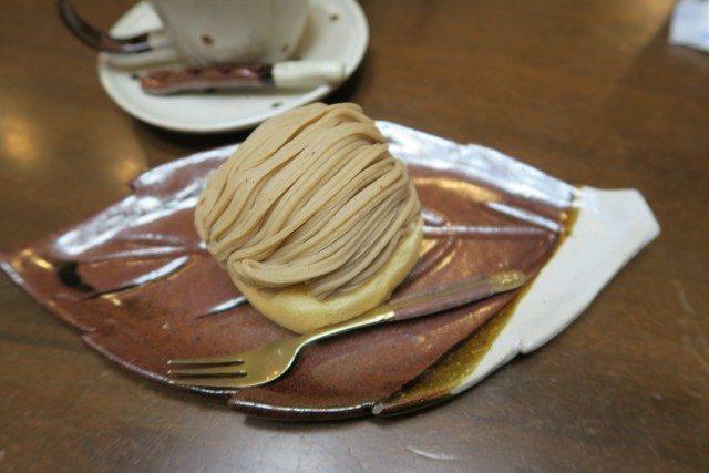 丸山珈琲_軽井沢本店_モンブラン