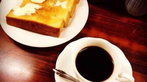 センリ軒_コーヒーとトースト
