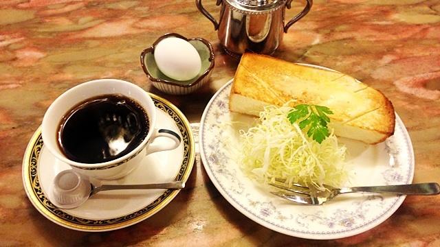カフェテラスロダン青山店_モーニングセット