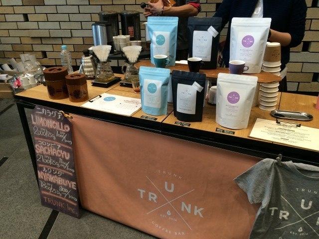 COFFEE COLLECTION around 神田錦町2015_trunkcoffee1