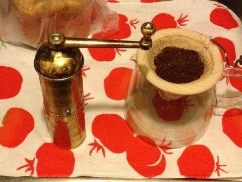120-コーヒー豆の挽き方「ネルドリップ」の特徴
