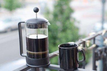 コーヒー豆の挽き方「フレンチプレス」の特徴