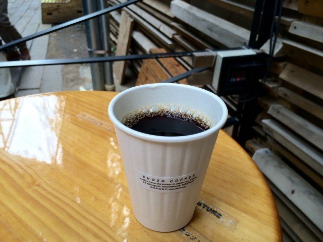 SHOZO COFFEE STORE_hotcoffee