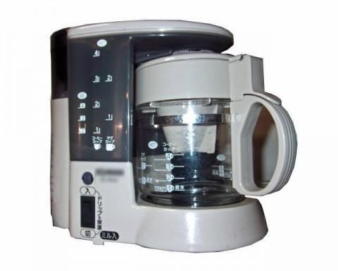 002-コーヒー豆の挽き方「コーヒーメーカー」の特徴