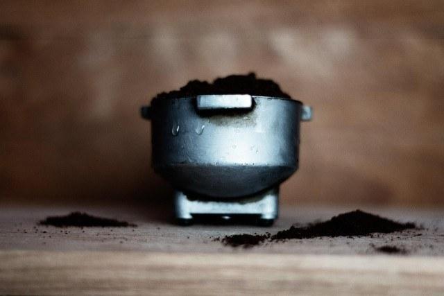 エスプレッソ用コーヒー豆の挽き方