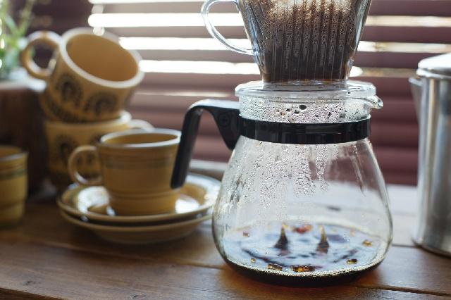 抽出時間 コーヒーサーバー