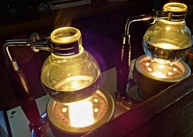 コーヒーの淹れ方サイフォンコーヒーの原理を知ろう