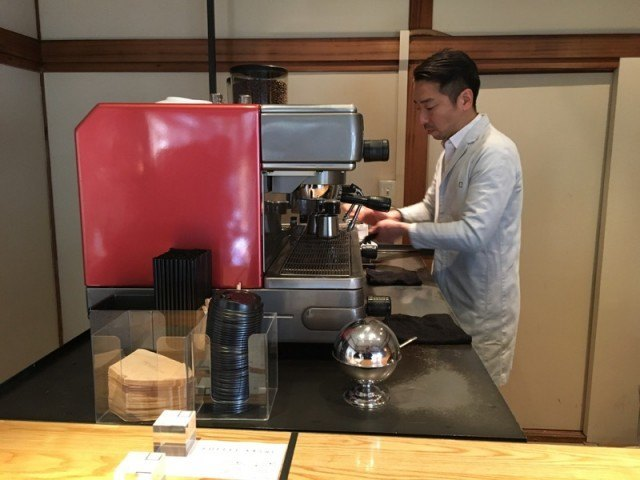 OMOTESANDO KOFFEE_machine