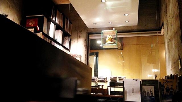 月光茶房_レコード室