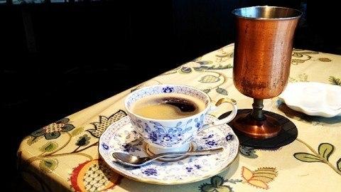 穂の香_コーヒーとアイスコーヒー