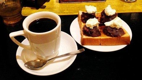 KAKOBUCYOCOFFEE_コーヒーと小倉トースト