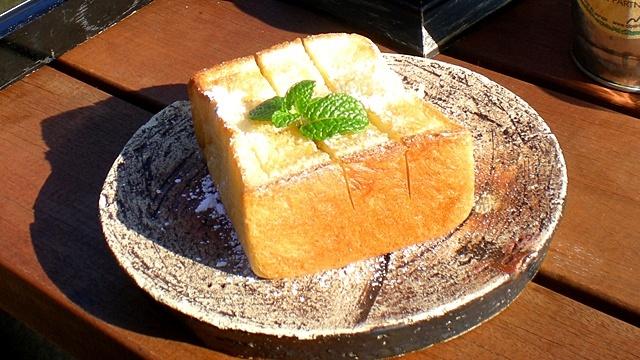 和カフェたらそ_トースト