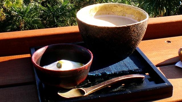 和カフェたらそ_豆乳プリンセット