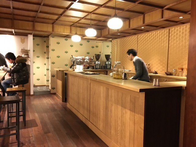 Cafe Kitsune_interior