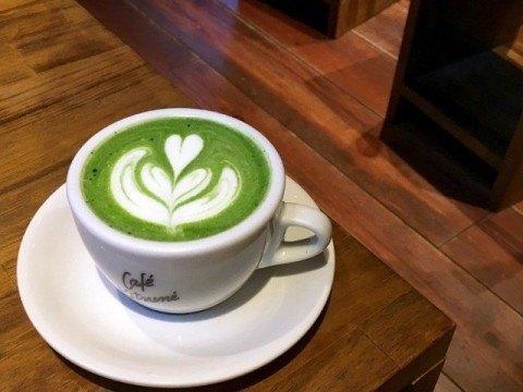 Cafe Kitsune_maccha