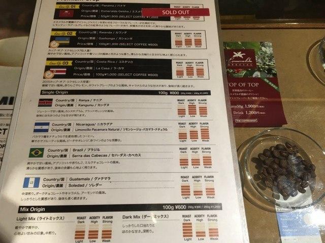 THE COFFEESHOP_menu2