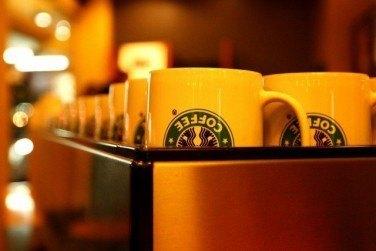 スターバックス自家焙煎のコーヒー店