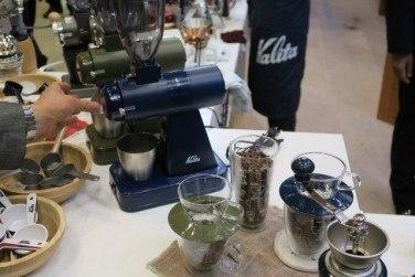 コーヒー豆の挽き方「カッティング式ミル」の特徴