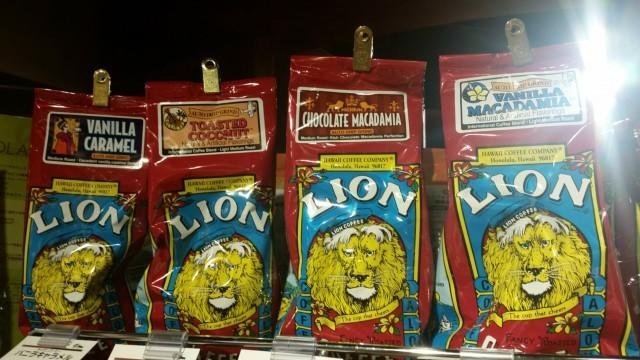lion coffeeの特徴と種類