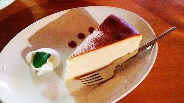 DUBLINroomcafé_チーズケーキ