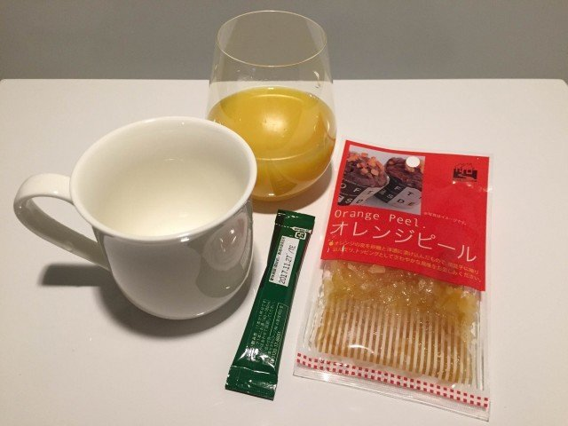 オレンジコーヒー_材料