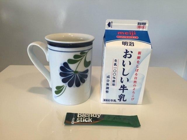 カフェオレ_材料