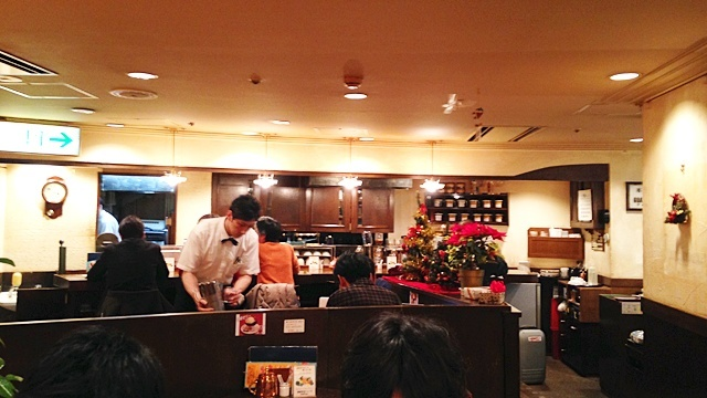 喫茶トップ渋谷駅前店_店内1
