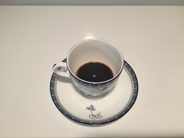 2.濃いコーヒー