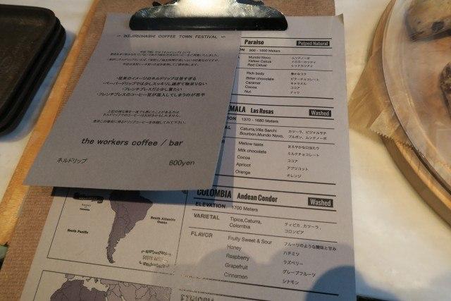 池尻大橋コーヒータウンフェスティバル The Workers Coffee & Bar