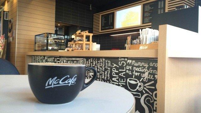マクドナルドのコーヒーマシンの特徴
