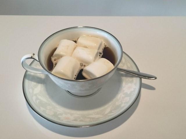 6.マシュマロコーヒー完成