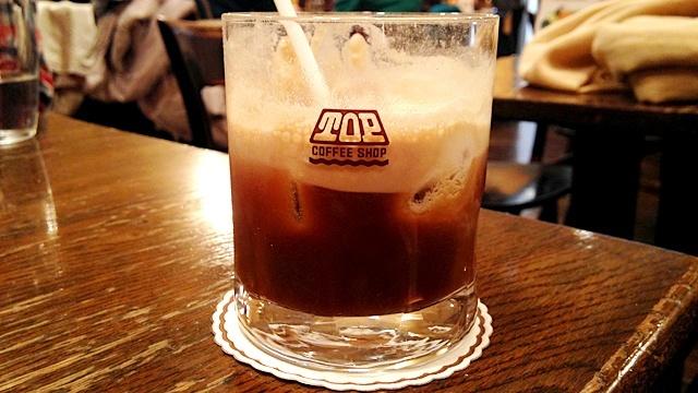 喫茶トップ渋谷駅前店_アイスコーヒー2