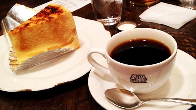 喫茶トップ渋谷駅前店_コーヒーとケーキ