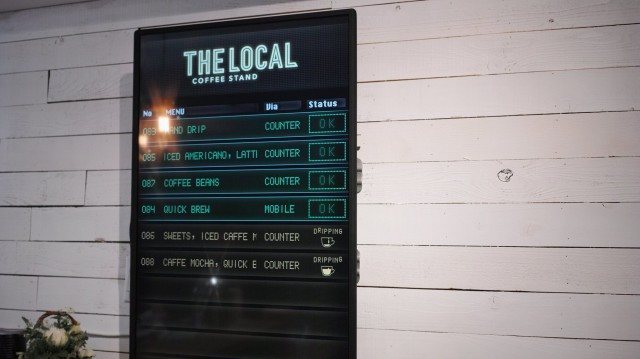 THE LOCAL_statusboard
