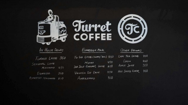 Turret Coffee_menu