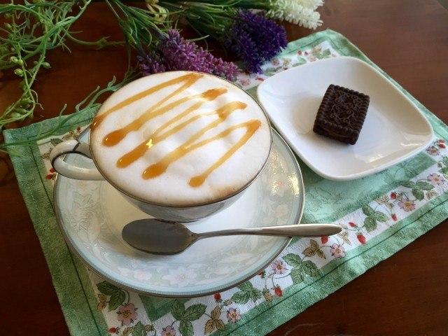 塩キャラメルラテの作り方【フレーバーコーヒーのレシピ】