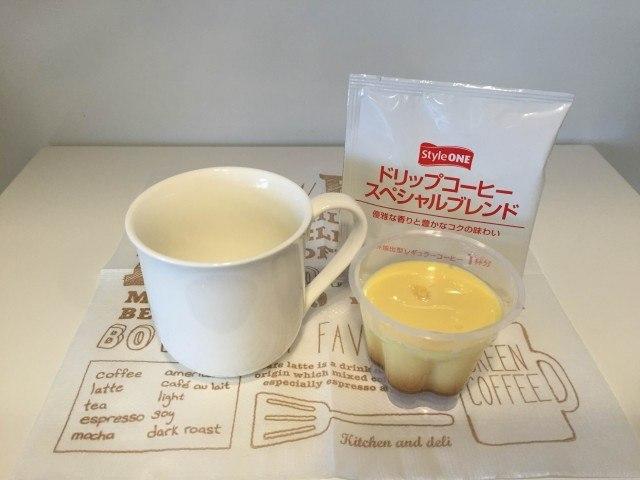1プリンコーヒー材料