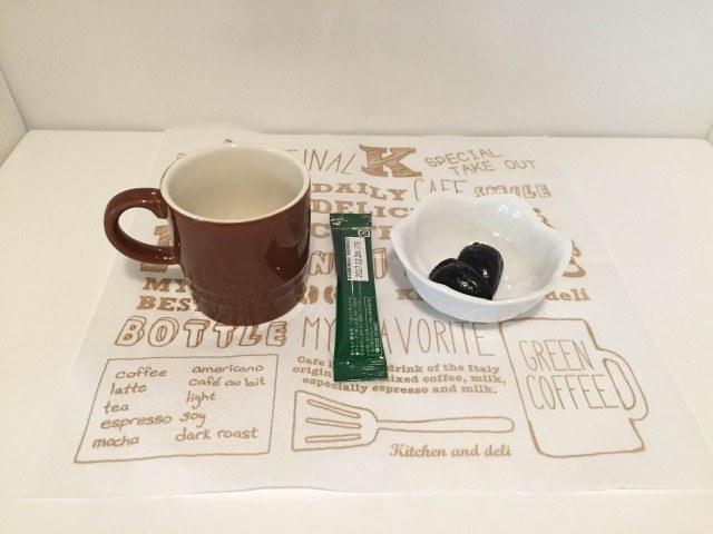 黒ゴマコーヒー材料