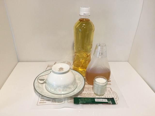 ジャスミン茶コーヒー材料