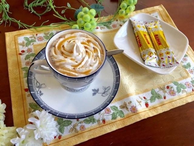 ココナッツミルクコーヒー完成