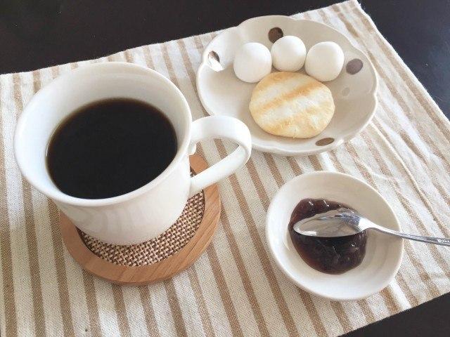 あずきコーヒー完成
